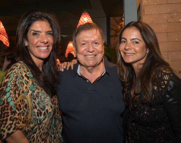 Patricia Brandão, Boni e Isabela Menezes