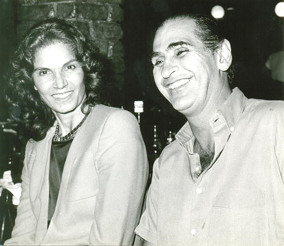 Florinda Bolkan e Paulo Fernando Marcondes Ferraz