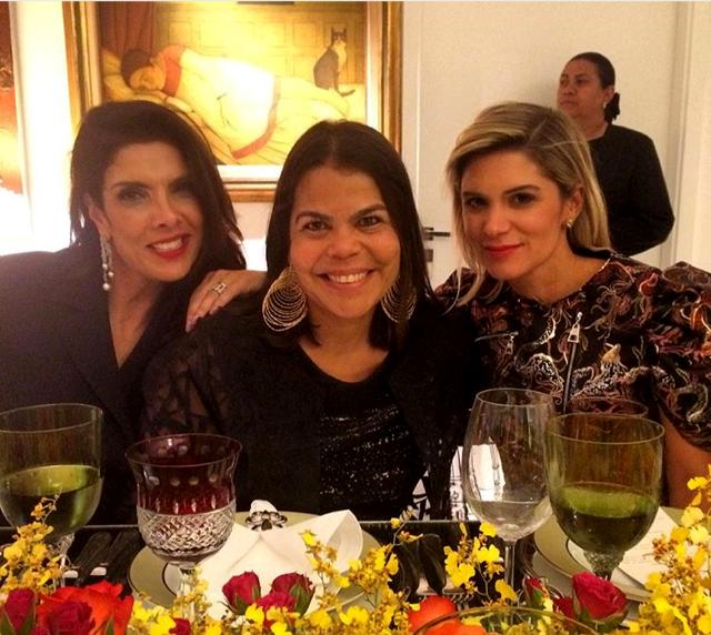 PB, Daniela Falcão e Juliana Santos