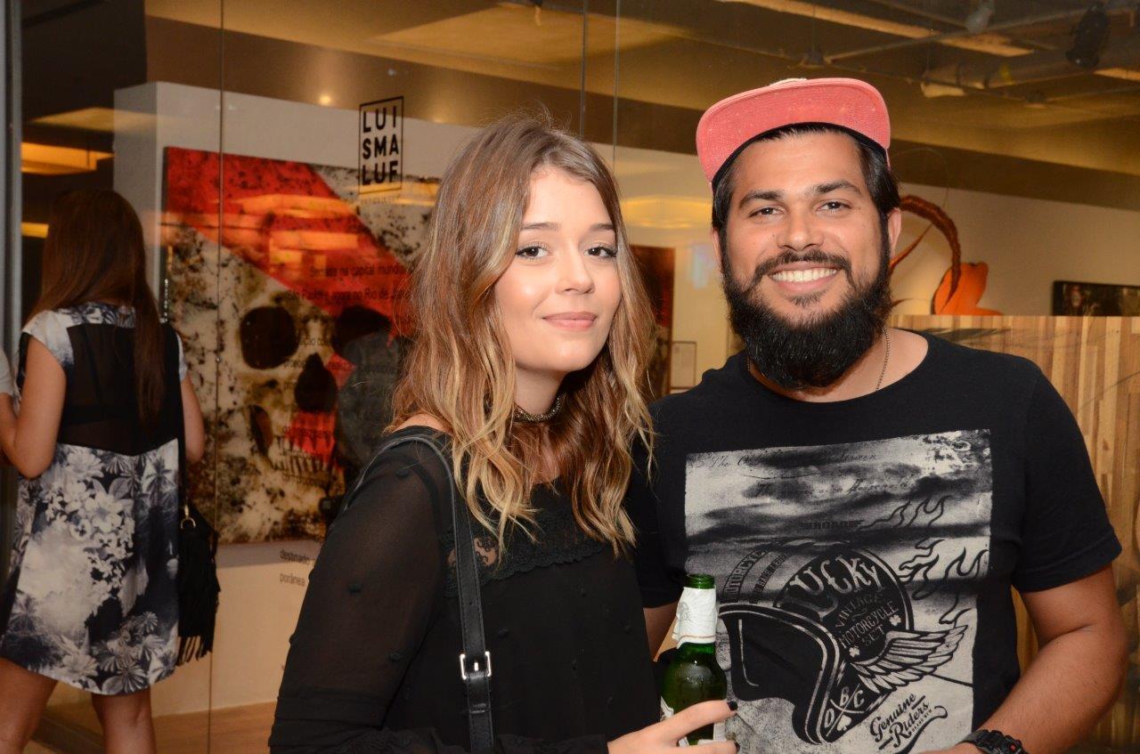 Luciana Didone e Bruno Villares