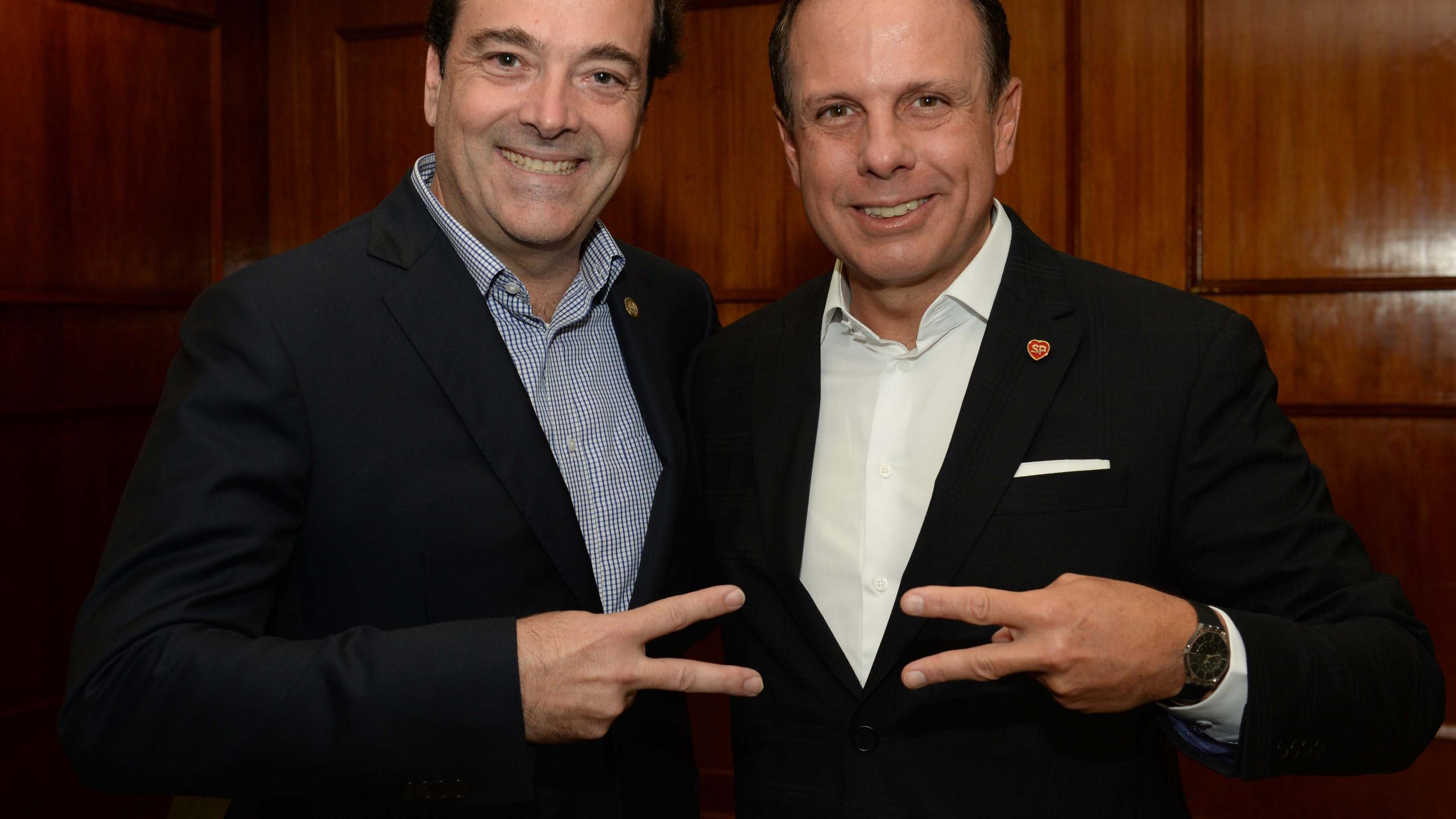 Carlos Osório e João Dória