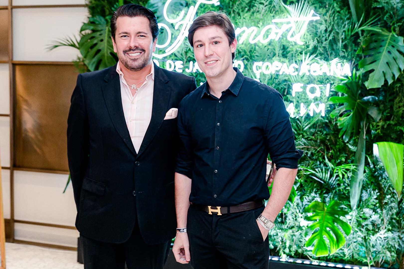 Andre Ramos e Gabriel Monteiro de Castro