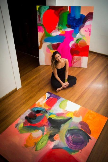 Duda Moraes faz sua primeira exposição individual