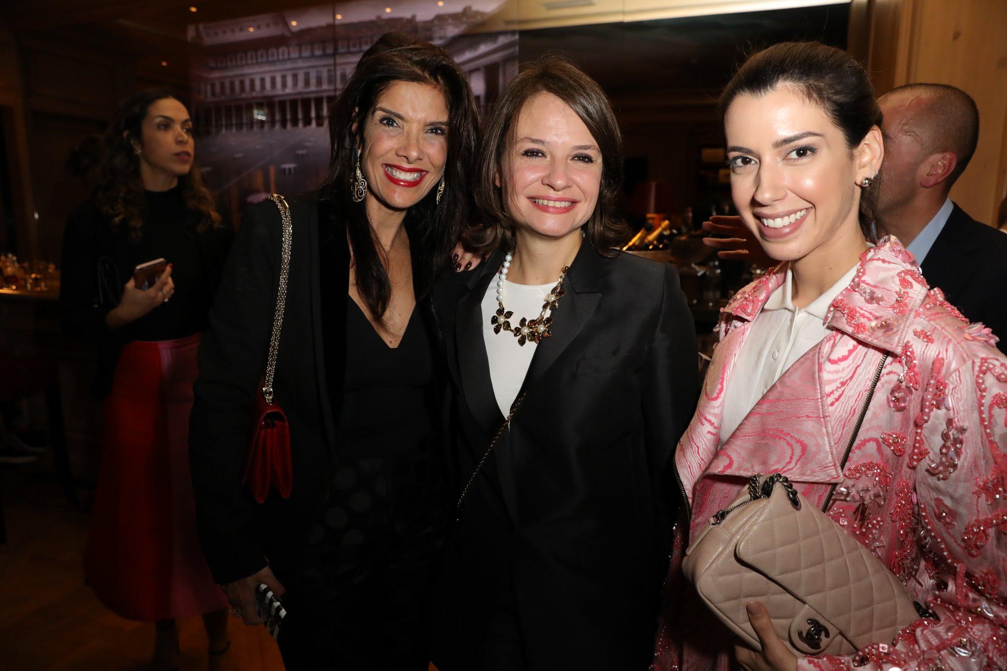 PB, Adelaide Borg e Camila Coutinho
