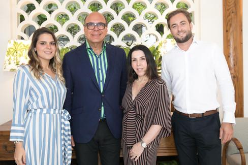 Arnaldo Danemberg e Paola Ribeiro, dobradinha chic