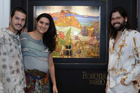 Dobradinha fashion: The Paradise + Roberta do RIO
