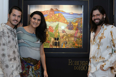 Dobradinha fashion: The Paradise + Roberta do RIO