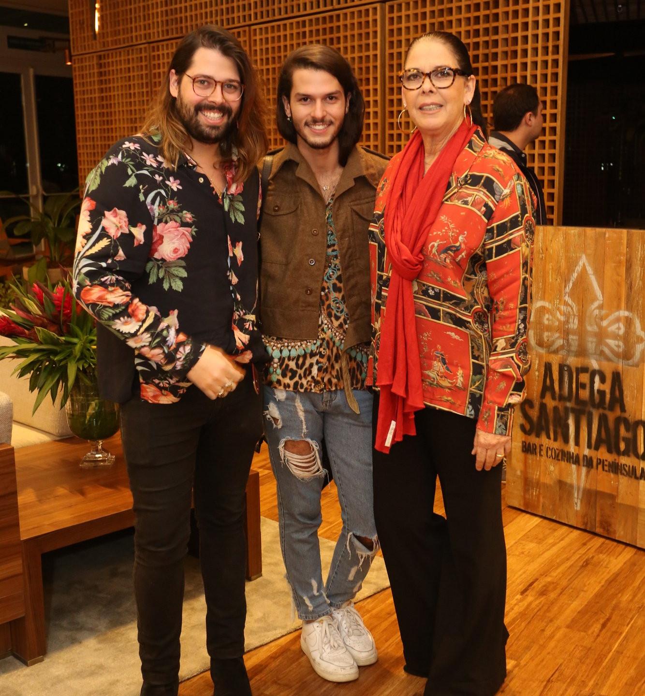 Thomaz Azulay, Patrick Doering e Lidia 4821
