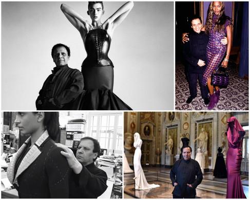 Azzedine Alaïa volta a desfilar na semana de alta costura de Paris