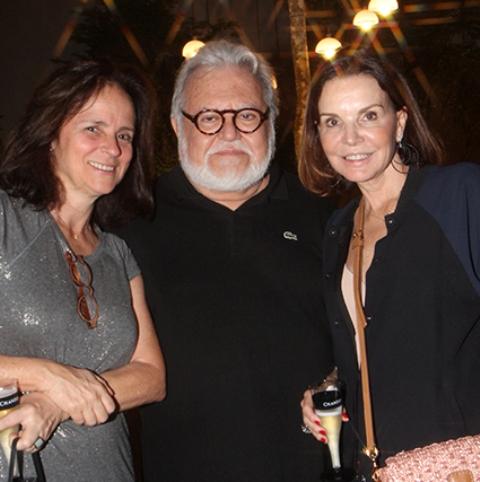 Patricia Quentel, Ricardo Maral e Patricia Mayer