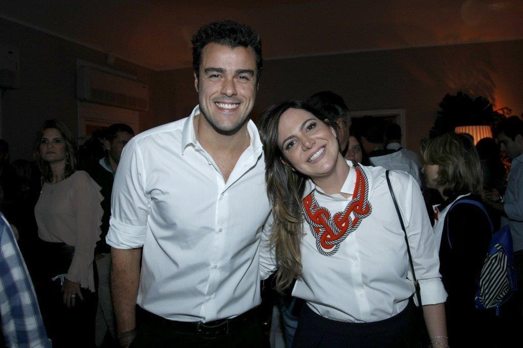 Joaquim Lopes e Carol Sampaio