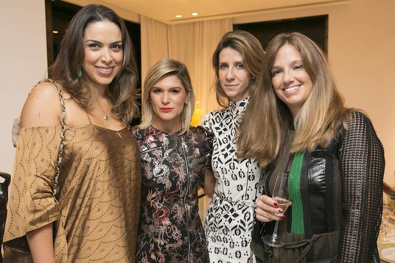 Taciana Veloso, Juliana Santos, Patricia Romano e P Vorlander