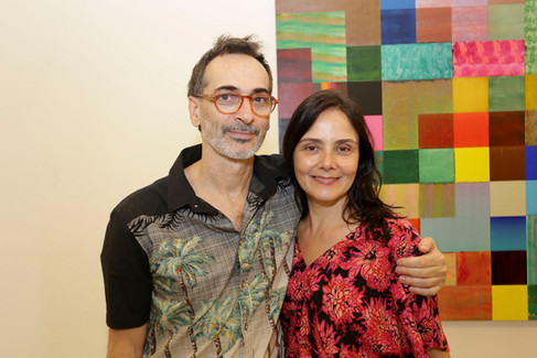 O artista visual Luiz Zerbini expõe no Rio de Janeiro