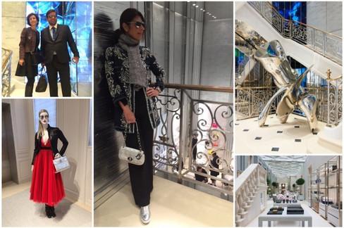 O luxo da House of Dior em Londres
