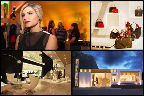 Louis Vuitton arma trunk show no Recife