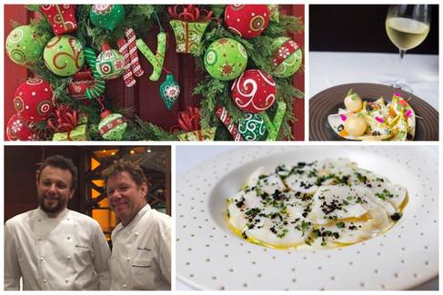 Restaurante Olympe inova com almoço natalino