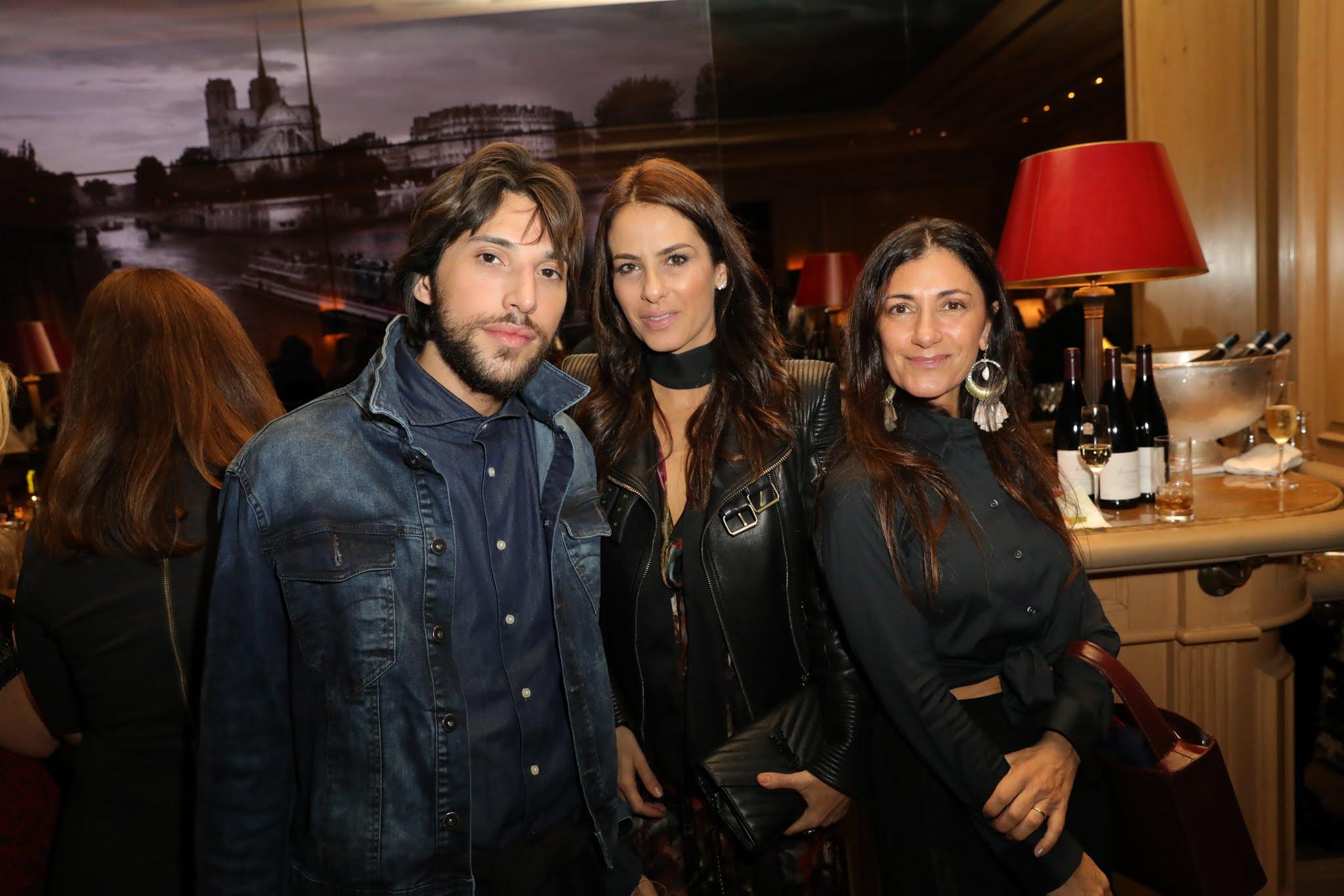 Aderbal, Dani Carvalho e Sarah Chofakian
