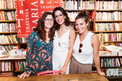 Lançamento de livro da chef Karen Couto, lota Travessa@Ipanema,