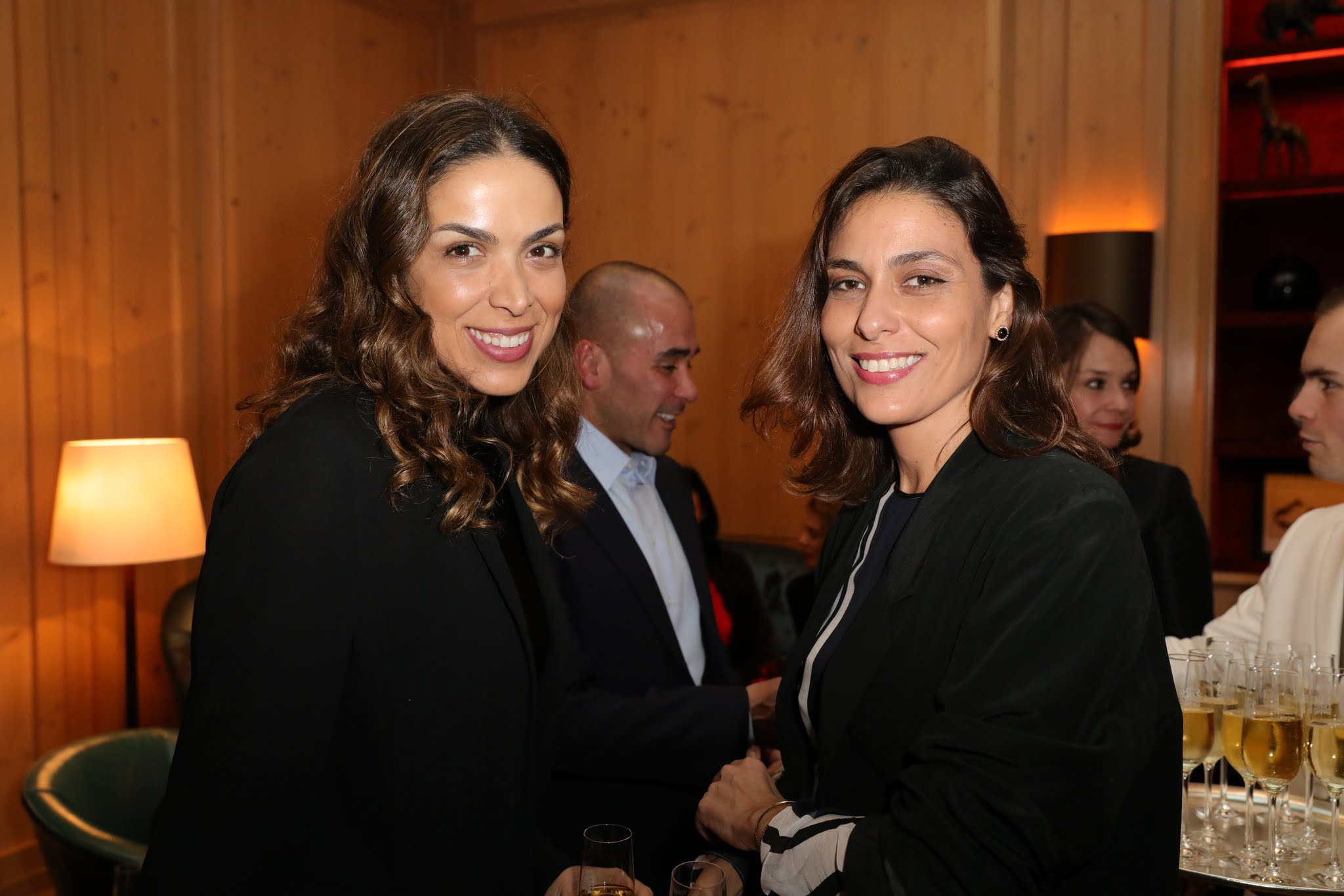 Taciana Veloso e Maria Rita Alonso