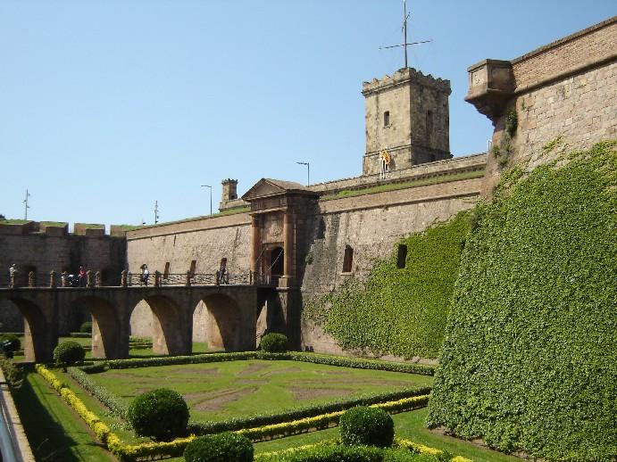Castelo-de-Montjuic-Barcelona