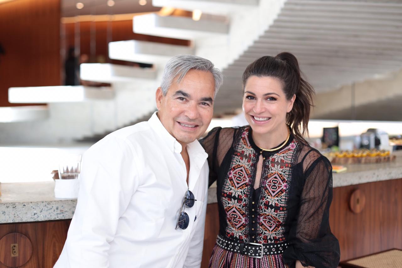 Juan Carlos Bendana e Natalie Klein
