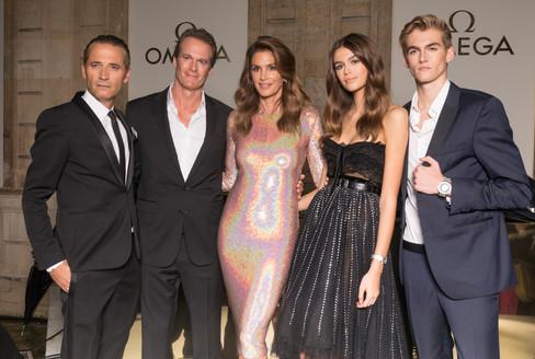 Festa da Omega movimenta Paris no meio da Fashion Week