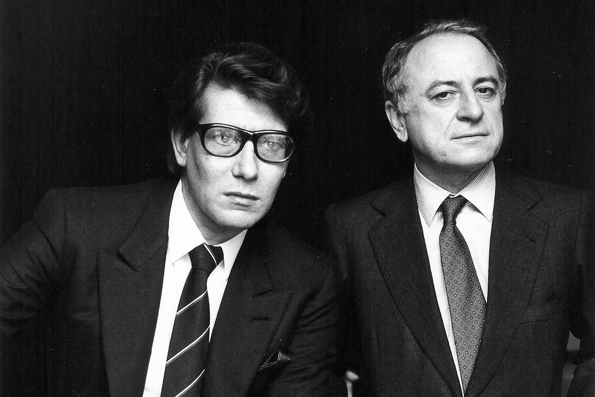 Yves Saint Laurente e Pierre Bergé