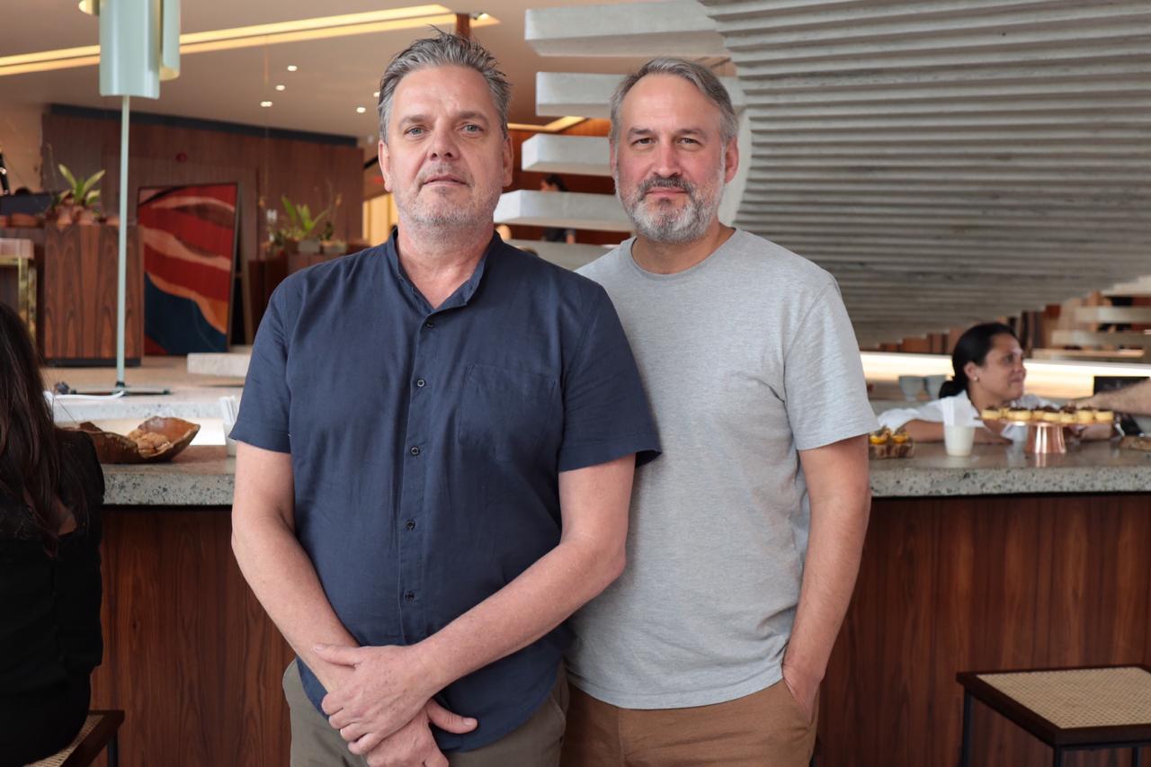 Caio Reisewitz e Oskar Kedor