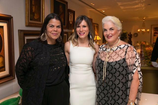 Daniela Falcão, Marianna Brennand e Neném Brennan