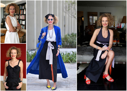 Consultora de estilo Ucha Meirelles assina coleção para marca paulistana Lina Dellic