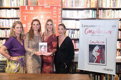 """Empresária Priscila Bentes lança seu livro """"Can@lha.com"""""""