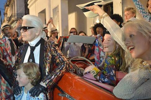 Chanel invade Cuba