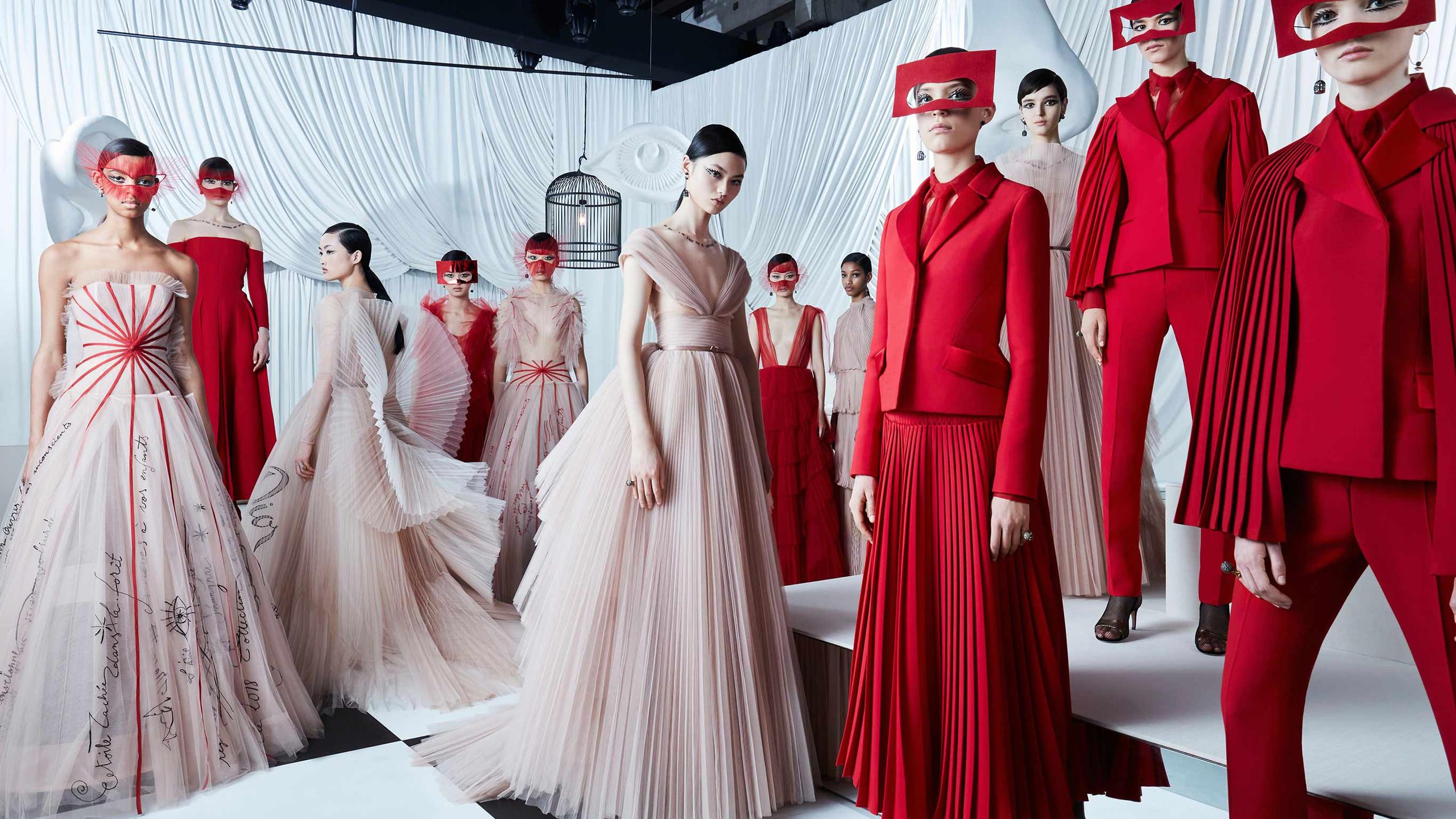 Haute Costure Dior Spring Summer 18