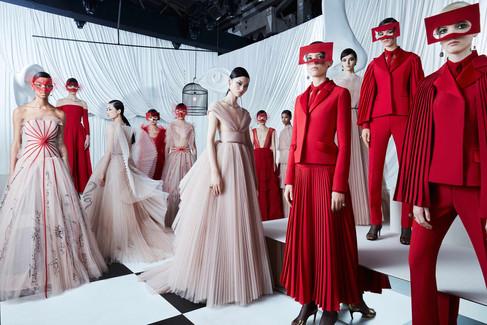 Dior desfile sua Alta Costura na China