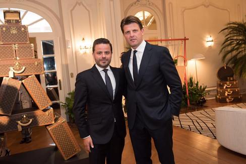 Jantar Louis Vuitton celebra abertura da expo L'Excellence du savoir-faire