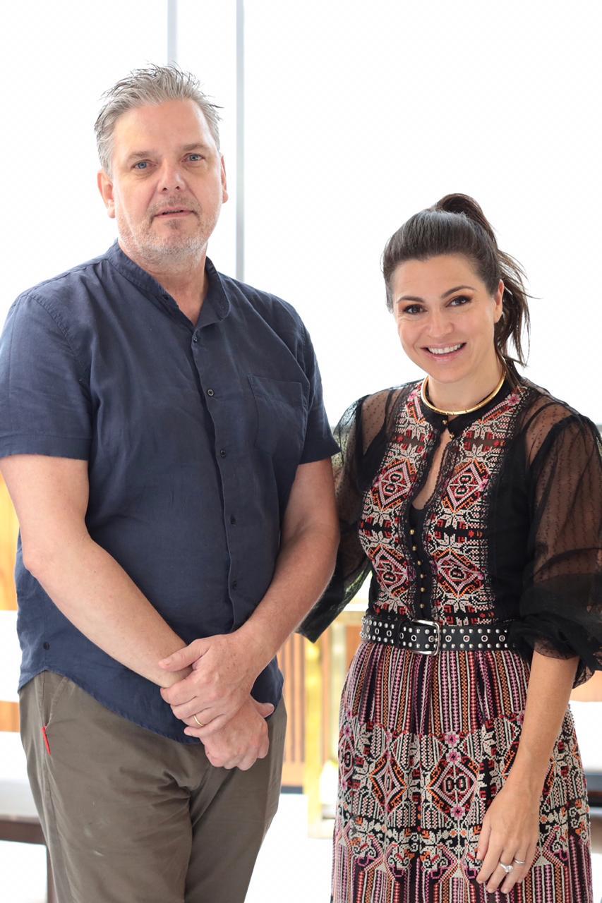 Caio Reisewitz e Natalie Klein