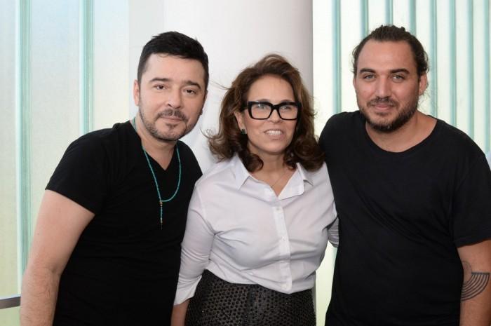Carlos Tufvesson, Patricia Viera e Guto Carvalho Neto