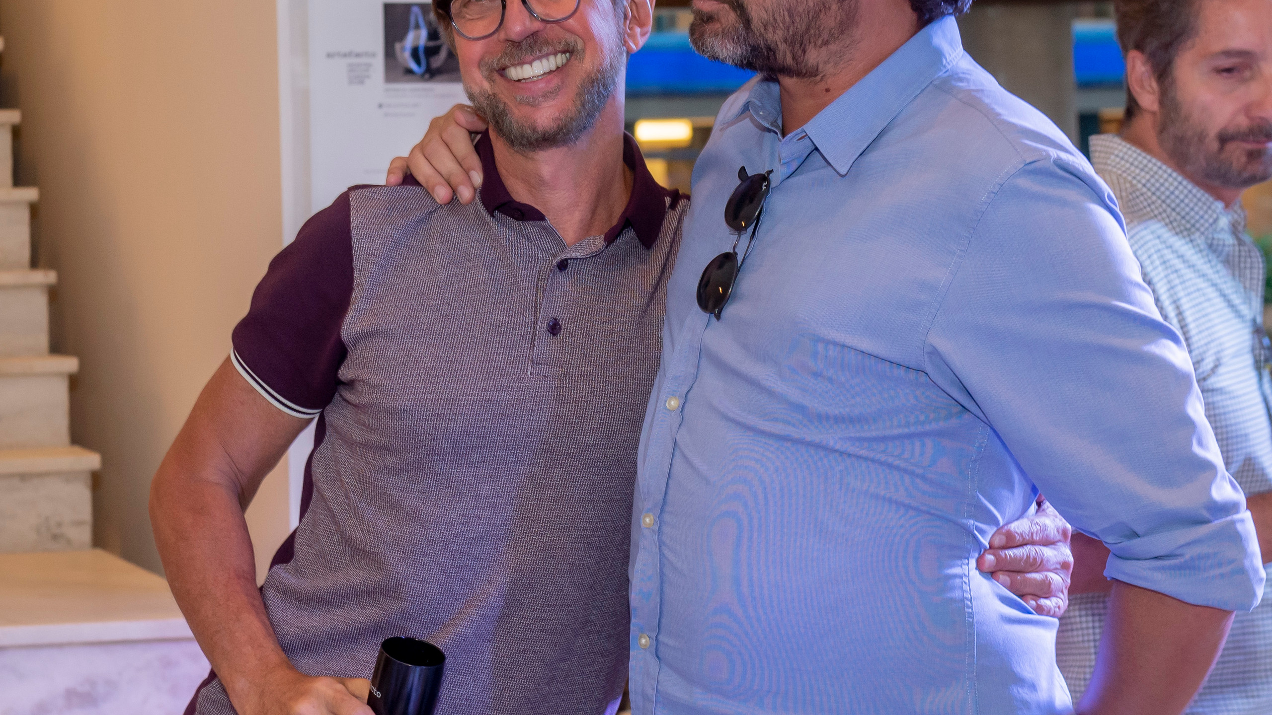 Nando Grabowsky e Miguel Pinto Guimaraes
