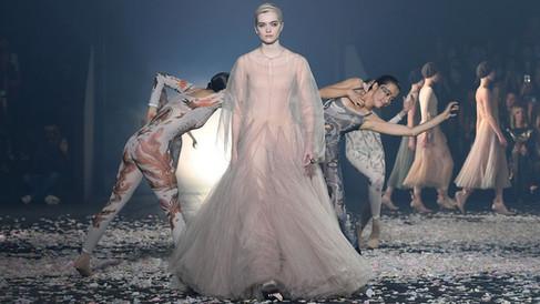 Desfile da Christian Dior traz a dança contemporânea como inspiração