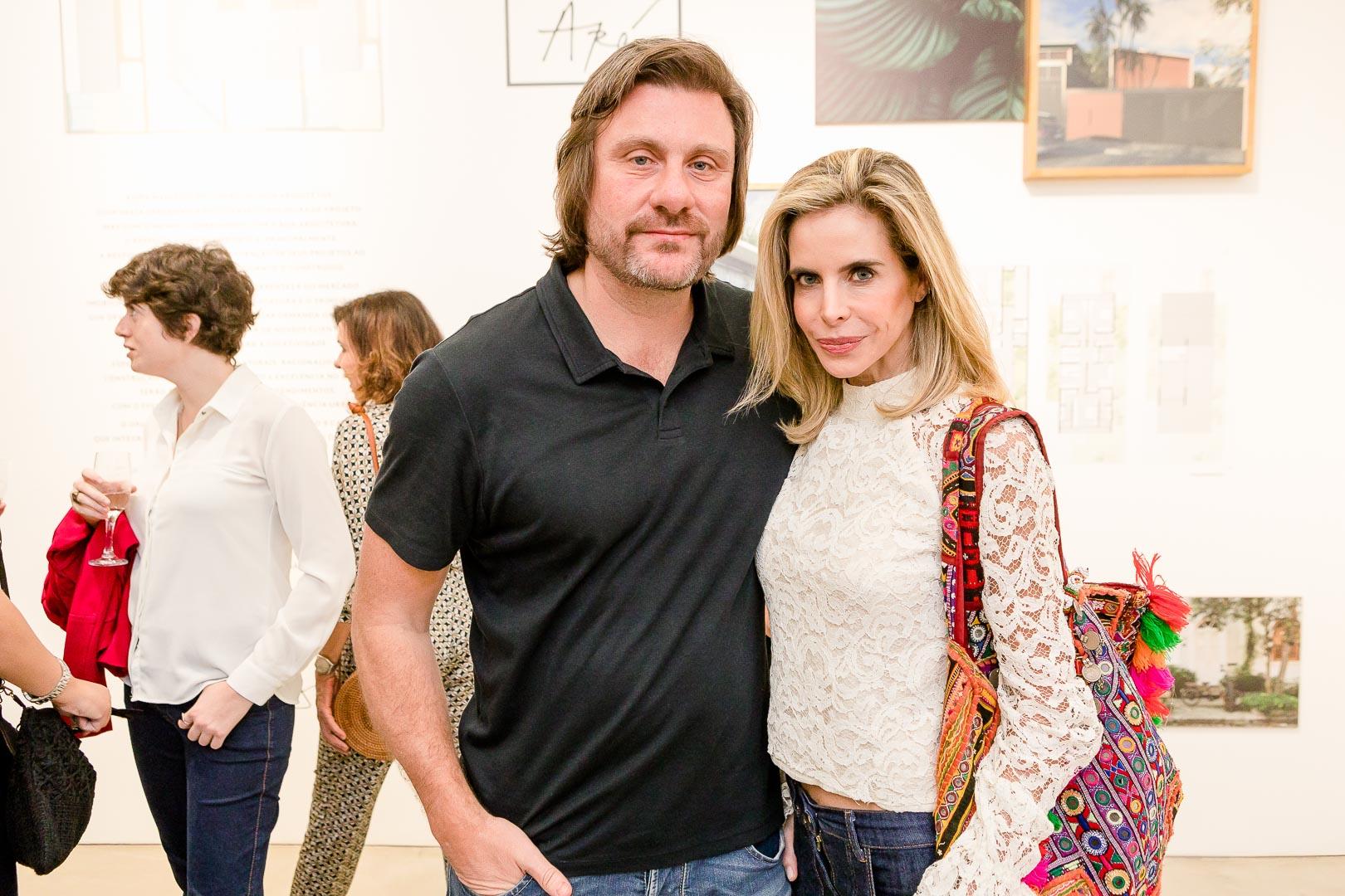 Joaquim Pedro Bertoltti e Astrid Monteir