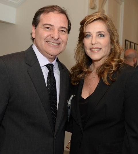 Alexandre Arraes e Andreia Repsold