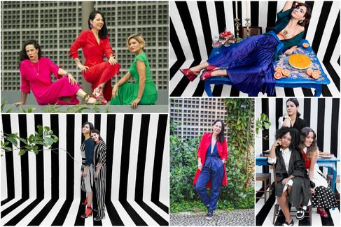 Coletivo Carandaí 25 recebe Dona Santa e  Shop2gether para encontro da moda brasileira