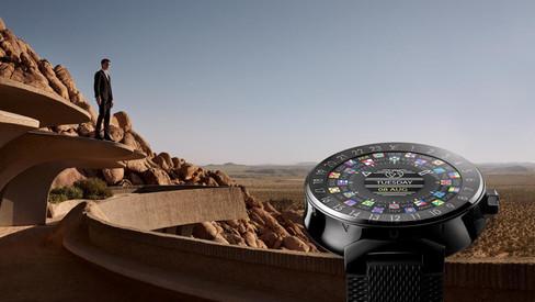 Tambour Horizon, o primeiro smartwatch da Louis Vuitton