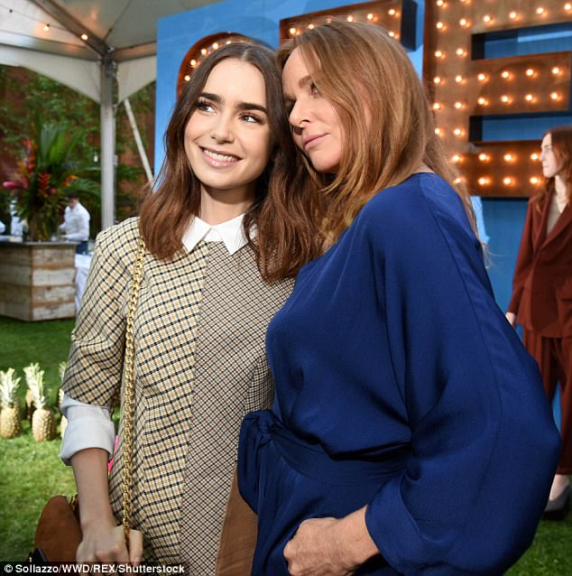 Lily Collins and Stella McCartney