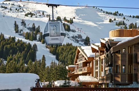 L'Apogée Courchevel, ski em grande estilo
