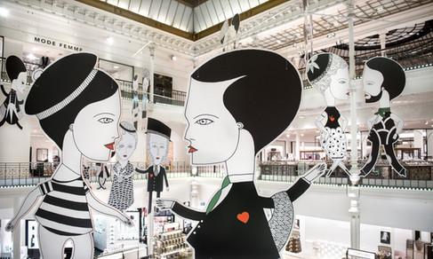 Le Bon Marché abre exposição: PARIS!
