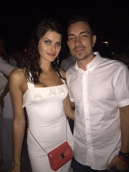A top Isabeli Fontana e Di Ferrero em Miami