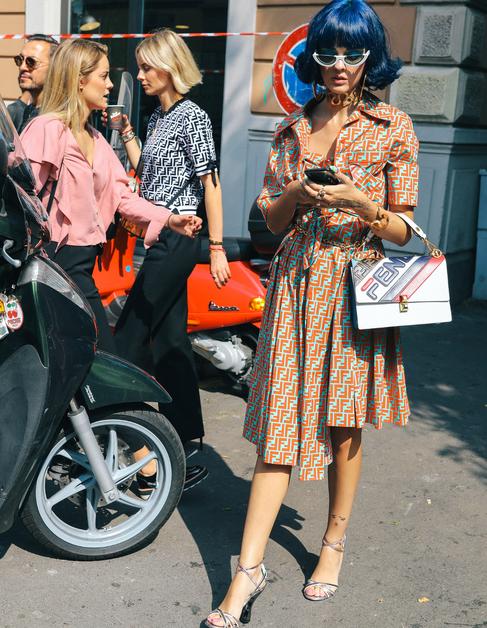 O melhor do street style nas ruas de Milão