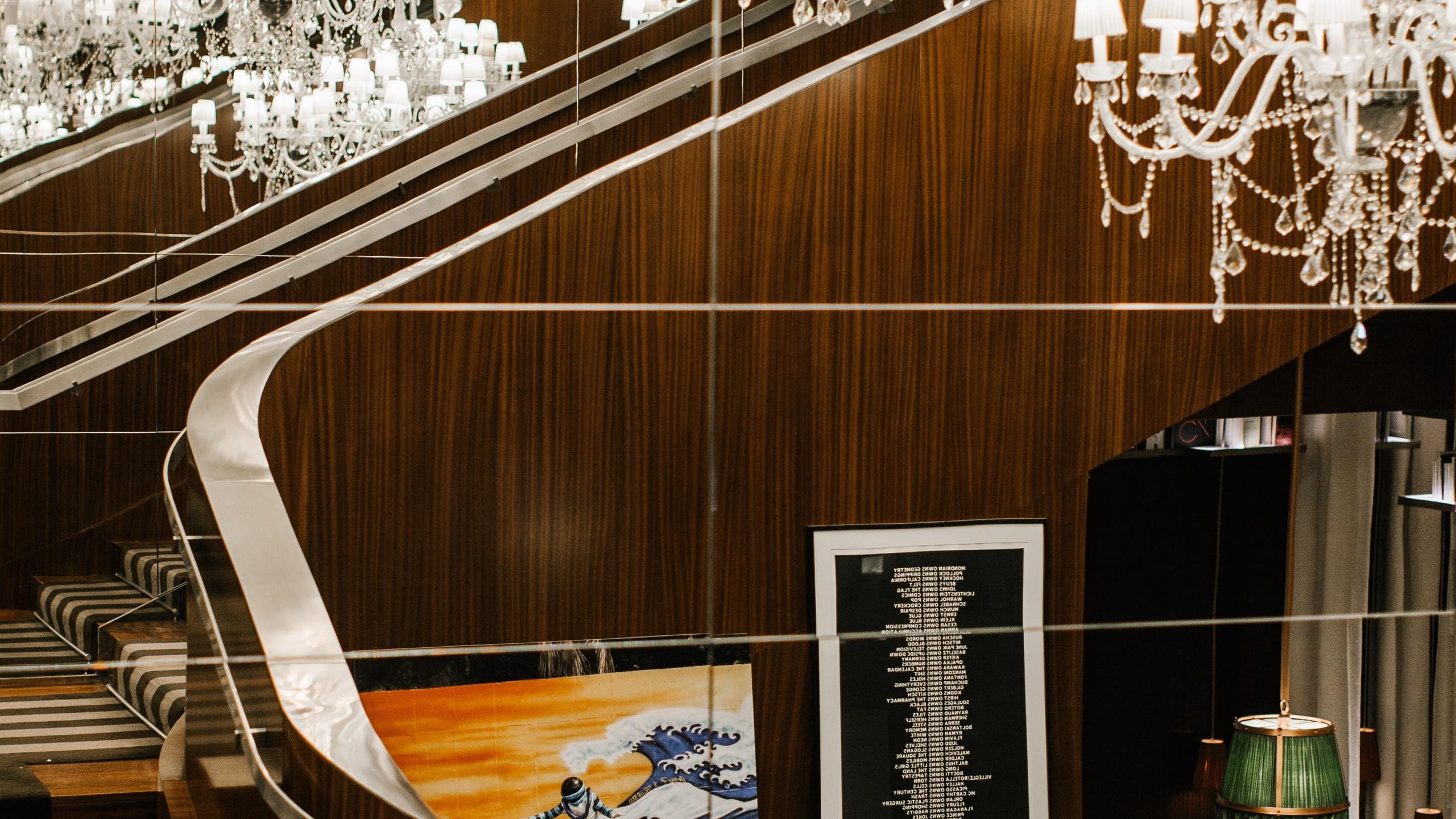 Le Royal Monceau Raffles Paris - escalie