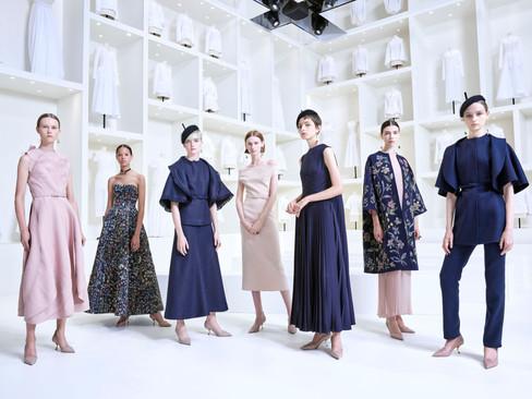 Descubra a coleção de Alta Costura Outono-Inverno 2019 da Dior
